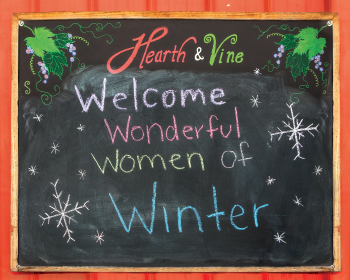 Hearth & Vine Sign