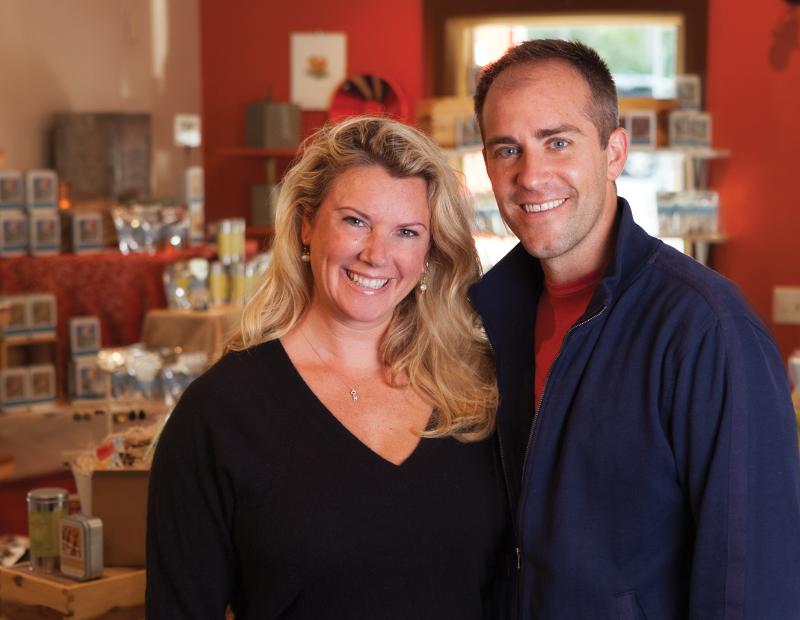 Heather and Chris Sack