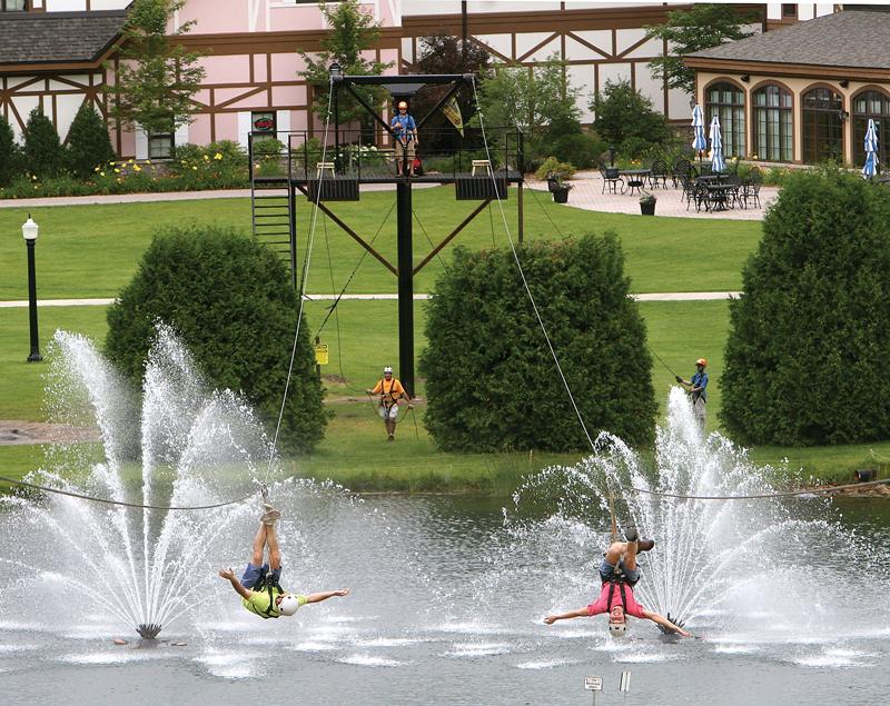 Twin Zip Boyne Mountain Resort