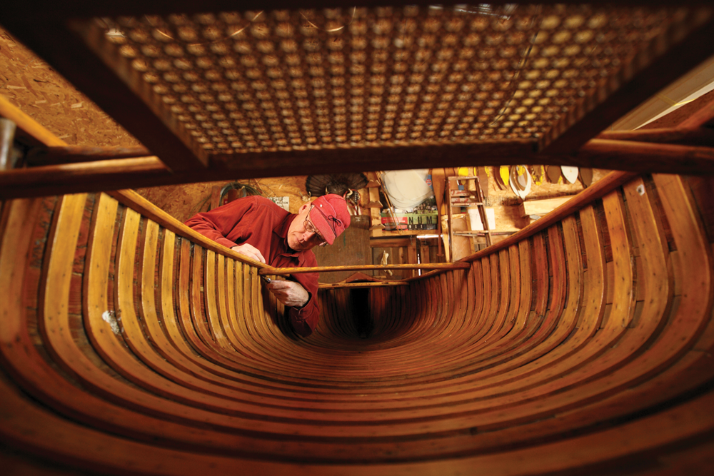 Wood working and boat interior
