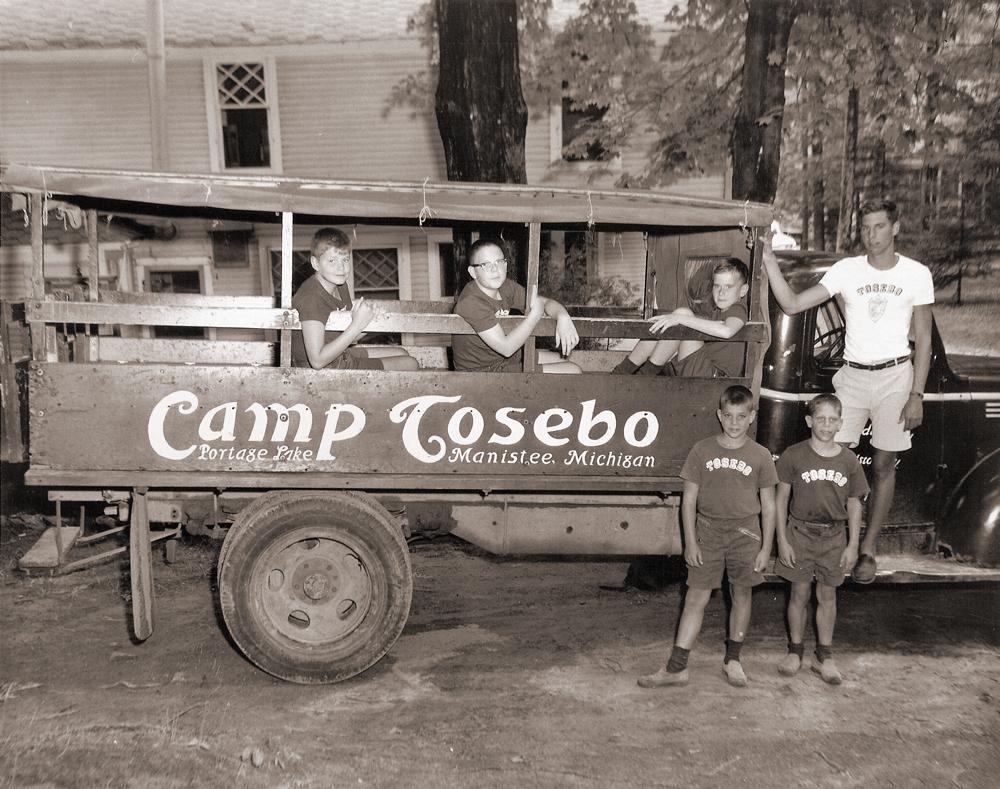 Camp Tosebo Truck