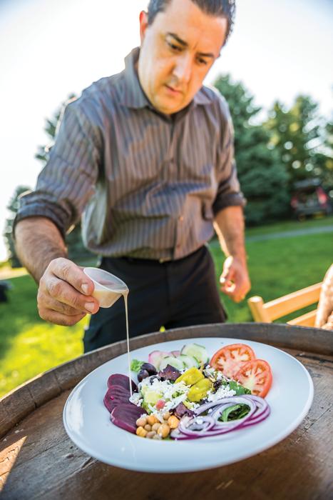 Chef Paul Barbas Traditional Greek Salad