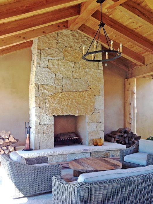 Fireplace Stonework courtesy buechel stone