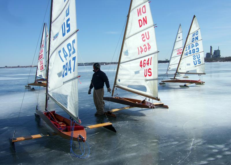 ice boat racing group