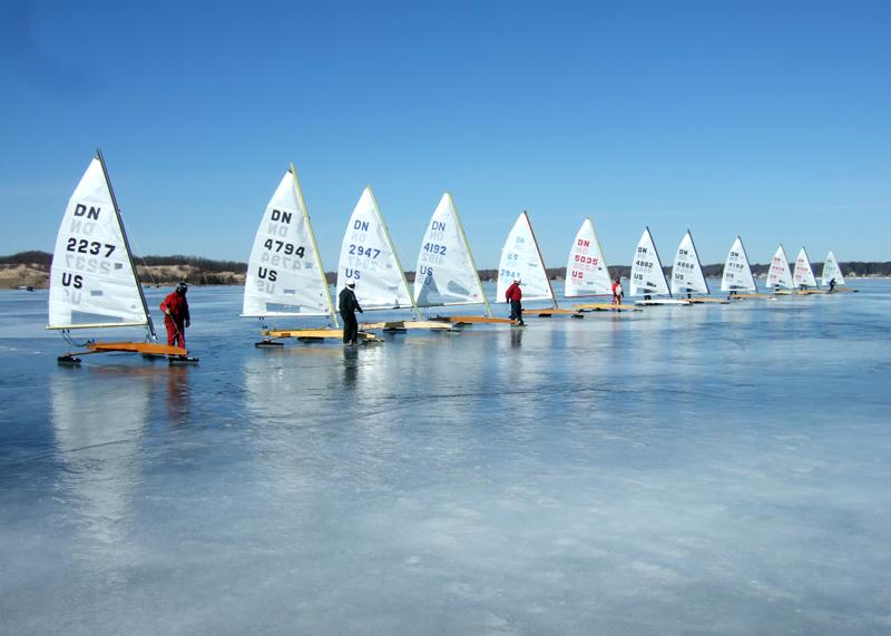 ice boat racing