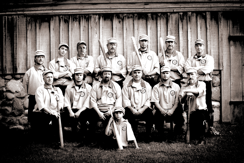 Baseball team photo from 2011