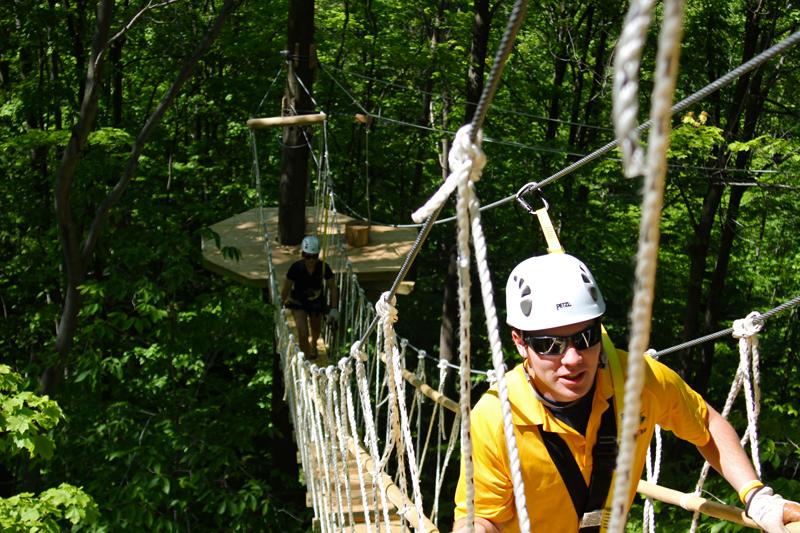 Wildwood Rush Zip Line Canopy Tour