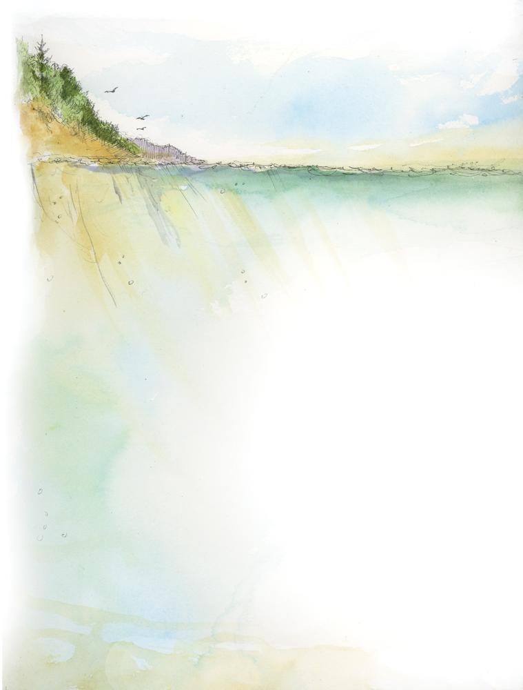 Cliff Illustration