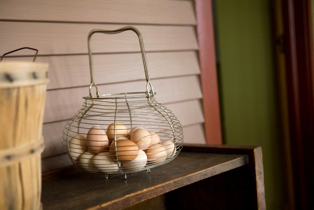 Hillside Homestead Eggs in a Basket