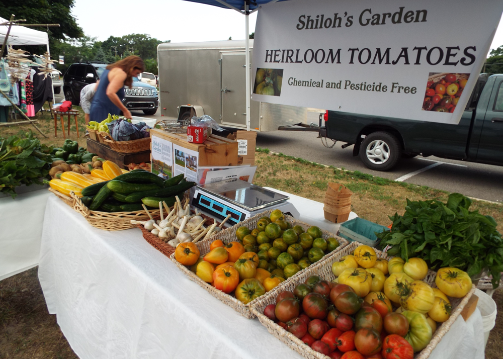 Shiloh's Garden heirloom tomatoes