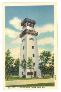 Burt Lake Scenic Tower