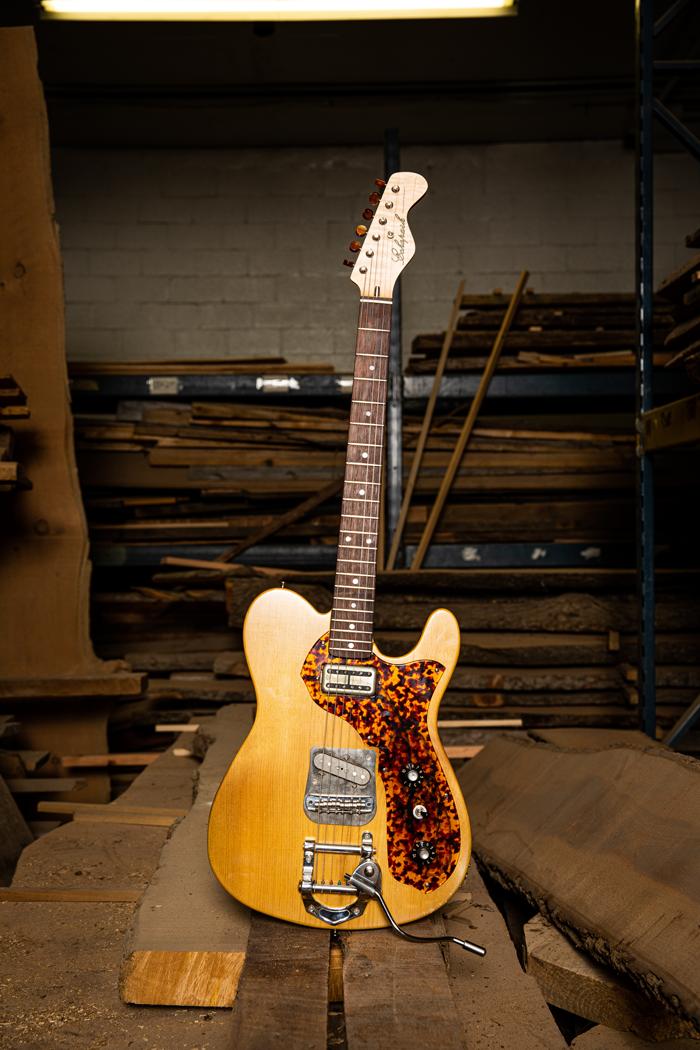 echo park guitars pine