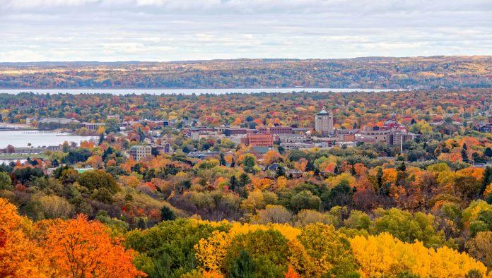 Autumn Traverse City Michigan