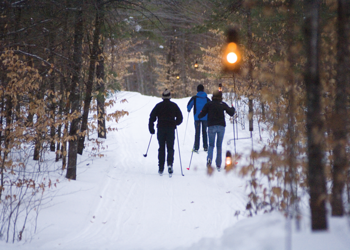 More Lighted Cross-Country Skiing Trails in Michigan