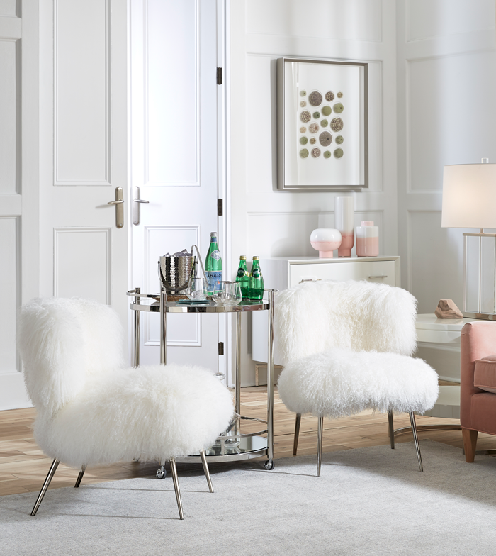 Room showing how styling with white can be done in many ways