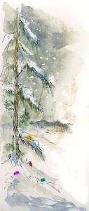 Snow Illustration G. Odmark