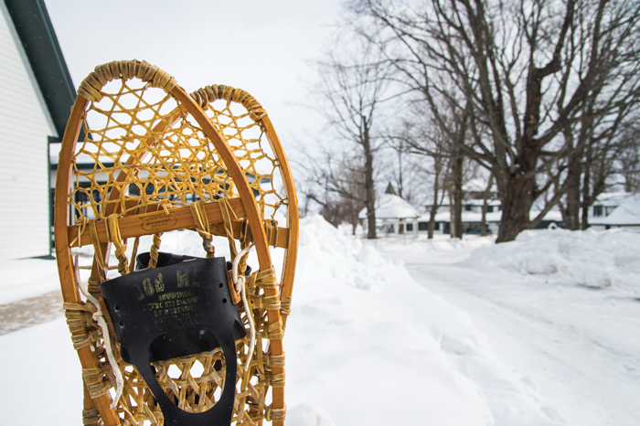 Snowshoes - Photography by Aaron Peterson