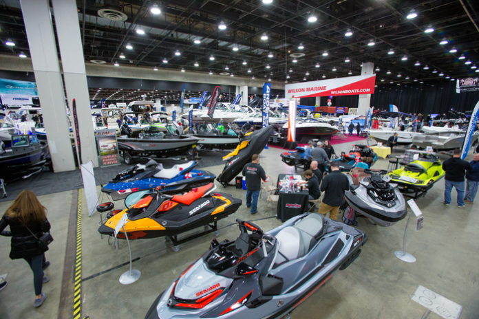Personal watercraft, ski boats, fishing boats and live-aboard cruisers are on display at winter boat shows.