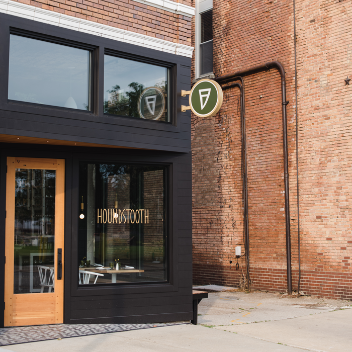 Houndstooth Restaurant Exterior