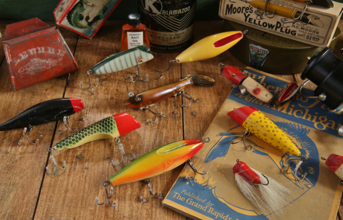 Terry McBurney's Michigan-Made Fishing Lure and Gear Collection