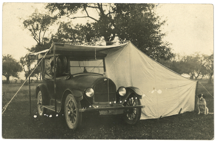Back in the day, autocamping was popular with families and their pets at sites like Houghton Lake in Roscommon County.