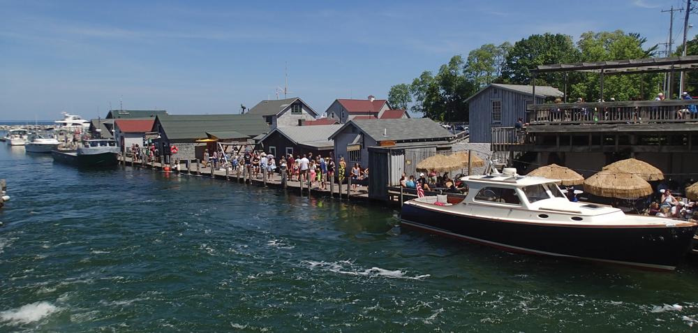 Fishtown is a popular tourist destination.